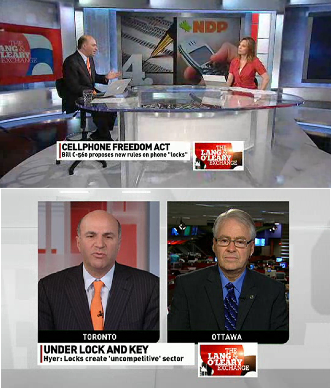 National media attention included CBC TV's Lang & O'Leary Exchange