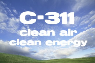 Bill C-311 - the first step to a clean air, clean energy future