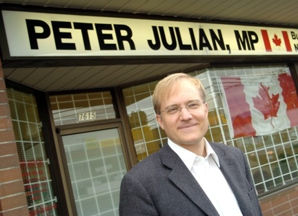 Trade expert Peter Julian, MP to visit Thunder Bay